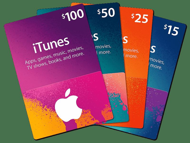 Itunes Gift Code 100$ Nạp chậm