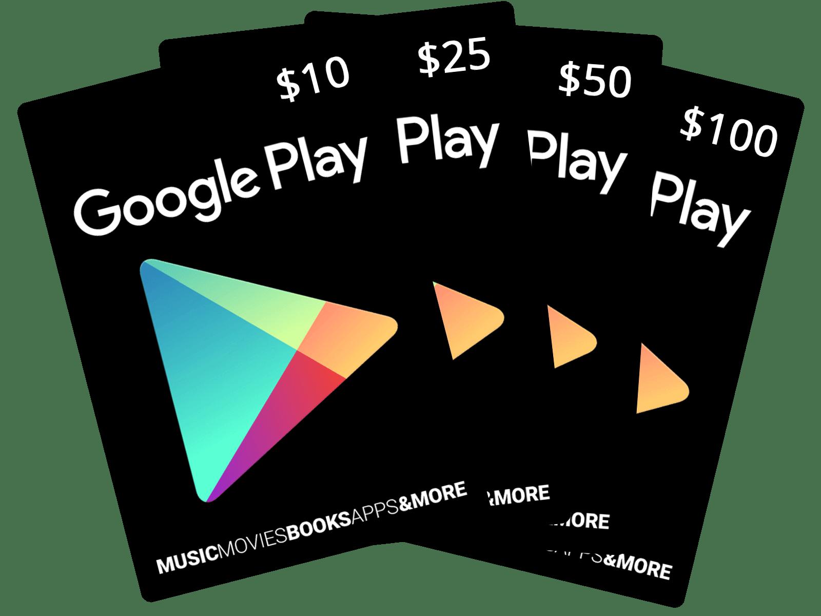 Google Play Gift Code 100$
