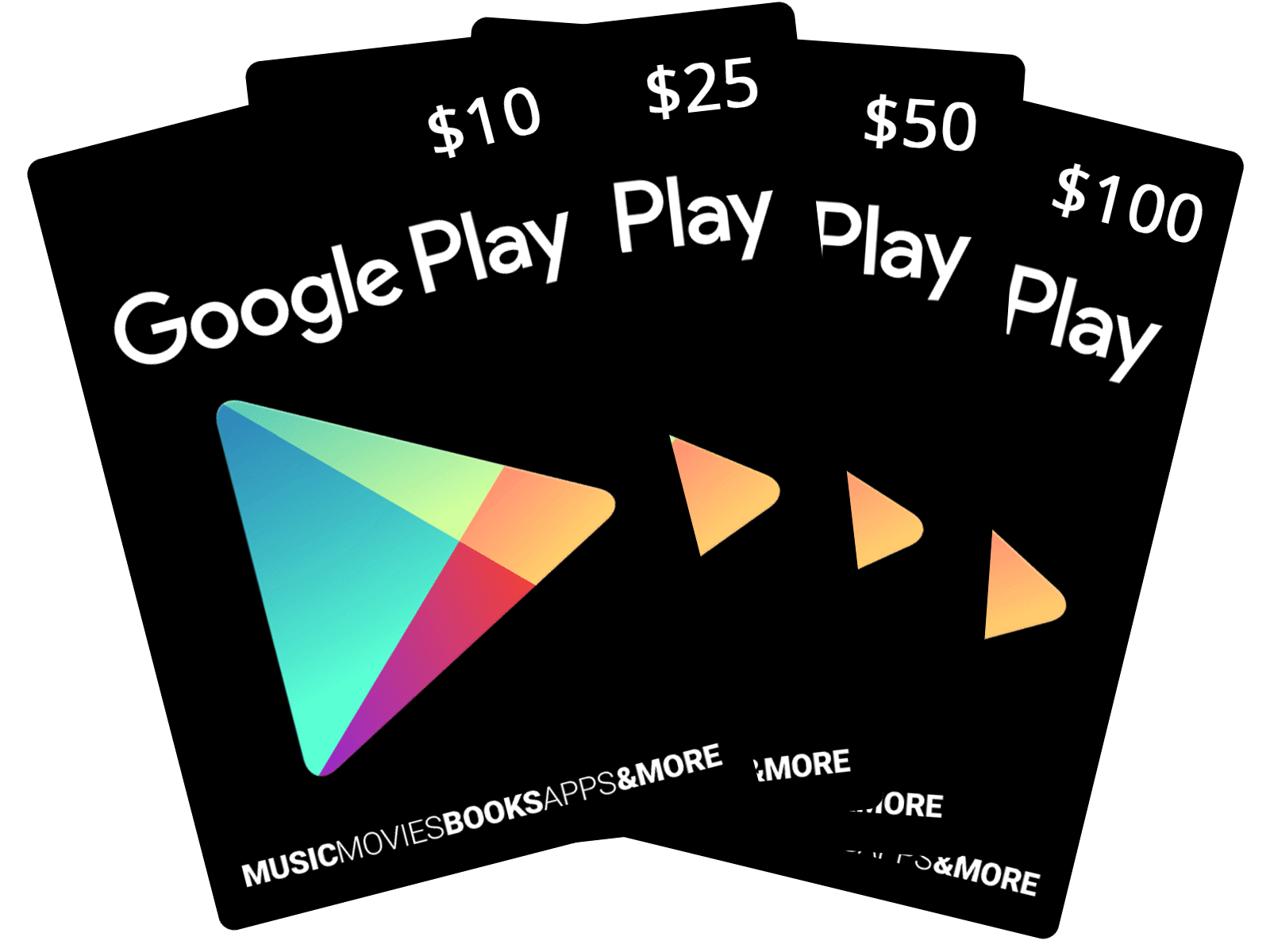 Google Play Gift Code 50$ Nạp chậm