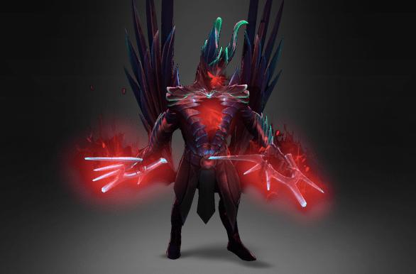 Exalted Fractal Horns of Inner Abysm - Ember Flame